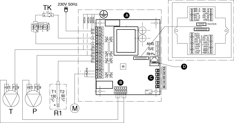 Internal Electrical Connection Plan B